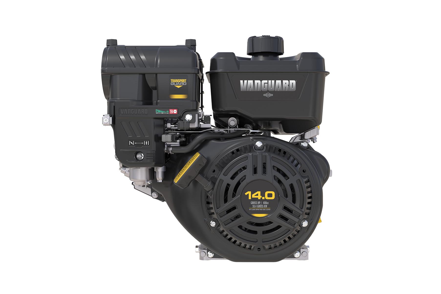 Der Vanguard 400 wird auf der Bauma zum ersten Mal in Europa vorgestellt. Er gehört zu einer komplett neu entwickelten Reihe von Einzylinder-Industriemotoren, die Effizienz, Komfort und reduzierte Betriebskosten beispiellos kombinieren.